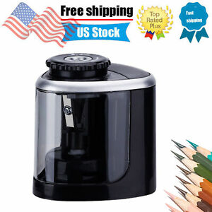 Automatic Electric Pencil Sharpener For Kids Battery Operated School Office T8b9