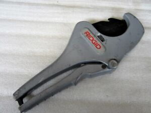 Ridgid Ratcheting Tubing Hose Cutter Rc 2375 Made In Usa