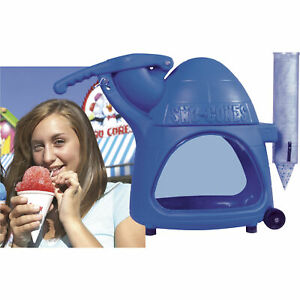 The Cooler Sno cone Machine Crushes 500 Lbs Of Ice Per Hour