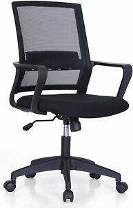 Office Chairs Computer Gaming Desk Chair Ergonomic Mid Back Home Mesh Chair