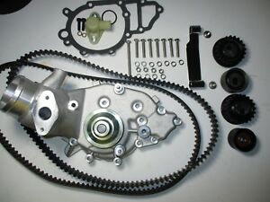Porsche 944 Turbo 951 Water Pump Kit New Uro Belts Rollers 86 Only Stage 2