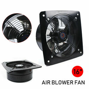 16 Industrial Factory Ventilation Extractor Axial Flow Exhaust Air Blower Fan