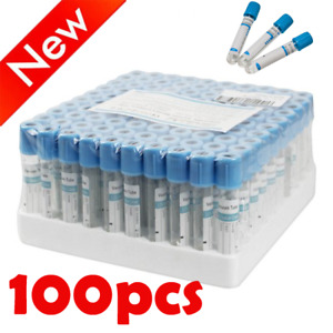 Medical 100x 2ml Buffered Sodium Citrate Blood Collection Coagulation Tubes Tool