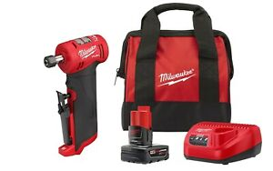 Milwaukee 2485 20 M12 Fuel 14 Right Angle Die Grinder With Starter Kit