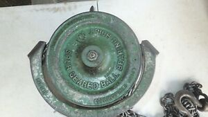 Vintage Robbins Myers Spur Geared Hoist 1ton Made In The Usa Works Good