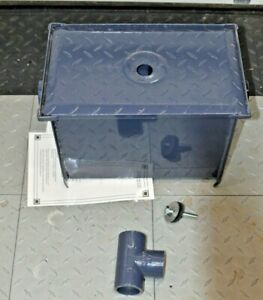 Bk Resources Bk gt 8 Grease Trap 8 Lbs 4 Gpm New
