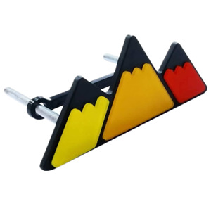 New Tri Color Grille Mountain Logo Emblems Car Truck Badges Fits 2009 Toyota Tacoma