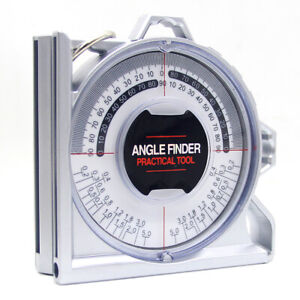Magnetic Angle Finder Inclinometer Protractor Locator Measuring Device