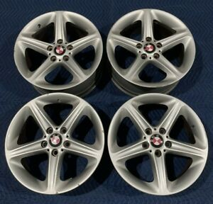 Set Of 4 18 Bmw 128i 135i Wheels Rims Factory Oem Silver Front And Rear Stock