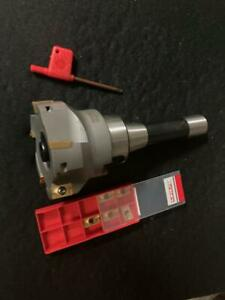 Fly Cutter 3 90 Degree Indexable Face Shell Mill R8 Shank Face Milling R8