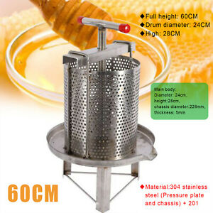 Honey Press Extractor Stainless Steel Household Manual Honey Press Paraffin Tool