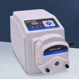 Laboratory Peristaltic Pump High Flow Liquid Metering Pump With 2m Silicone Tube