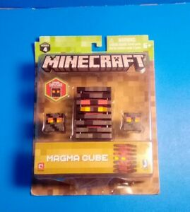 Minecraft Series #4 Magma Cube NEW Opens amp; Closes Age 6 Action Figure Toy $9.99
