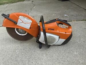Stihl Ts500i Concrete 16 Cut off Wet dry Demo Saw Easy Repair Not Working