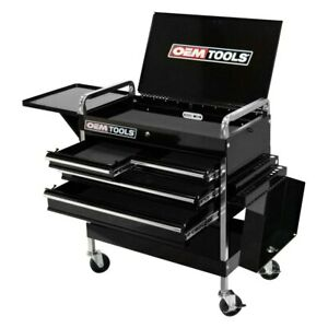 Tools Deluxe 4 drawer 1 tray Service Cart