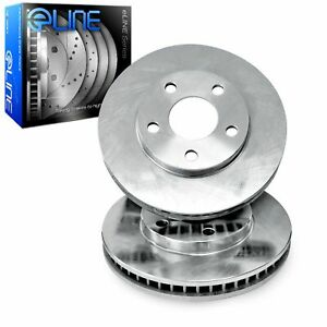 For 2013 2014 Ford Mustang R1 Concepts Rear O E Replacement Brake Rotors
