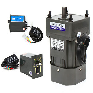 110v 60w 10k Ac Gear Motor Electric Variable Speed Controller 135 Rpm 1 10 Usa