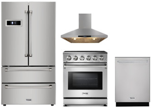 Thor Package With 30 Electric Range 36 French Door Refrigerator