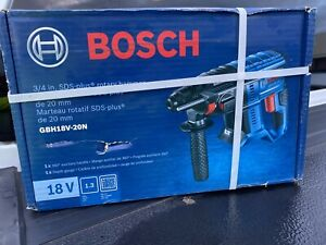 Bosch Bulldog Core18v 3 4 In Sds Plus Rotary Hammer Gbh18v 20n tool Only New