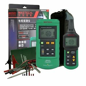 Ms6818 Portable Cable Tracker Metal Pipe Locator Detector Tester Line Tracker