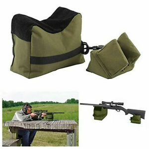 Shooting Hunting Range Sand Bag Combo Set Front amp;Rear Rifle Gun Bench Rest Stand $8.99
