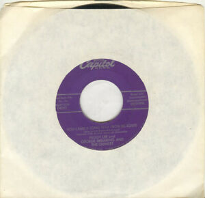 Peggy Lee 45rpm You Came a Long Way From St. Louis vintage vinyl $4.00