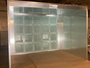 10 Wide Open Face Paint Spray Booth With Led Lighting