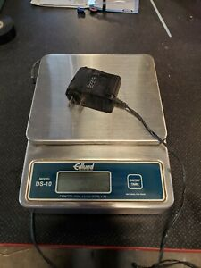 Used Edlund Ds 10 Digital Scale 10lb With 1 Ounce 1 Oz Accuracy