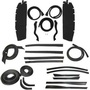Body Weatherstrip Kit Compatible With 1949 1952 Chevrolet Oldsmobile Convertible