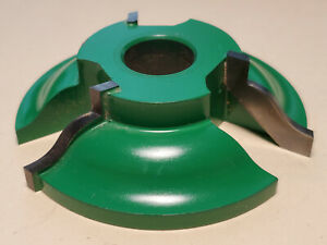 Grizzly C2128 Carbide Shaper Cutter Reversible Detail Ogee 3 4 Bore
