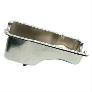 Summit Racing G3520 Oil Pan Steel Chrome Plated 5 Qt Ford 260 289 302 Each