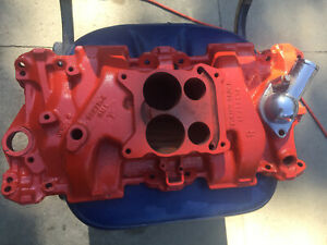 Oem Gm 8277184 Intake Manifold Small Block Chevy Used Excellent Condition