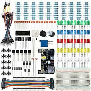Electronics Projects Starter Kit W Breadboard Basic Diy Making Parts Components