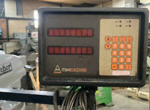 Anilam Digital Read Out Dro Milling Machine 9x 42 Table