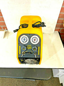 Cps Cr500 Portable Oil less Refrigerant Recovery System pre owned