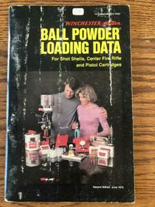1975 Winchester Western ball powder reloading manual $9.50