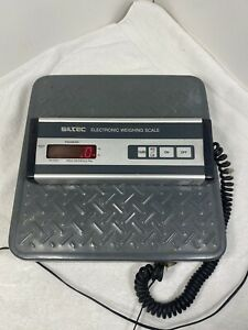 Siltec Ps 500l Heavy Duty Shipping Weighing Scale 500lbx0 5lb Base 12 x12 4