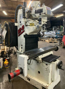 Fryer Bed Mill Cnc Vertical Milling Machine 3 Axis Operates Manual Or Cnc