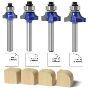 6mm Corner Round Router Bit With Bearing Milling Cutter For Woodworking Tool
