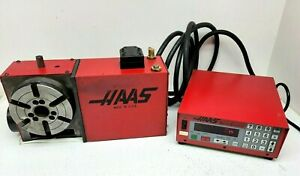 Haas 6 Hrt 160 4th Axis Rotary Table Cnc Indexer W Servo Controller working