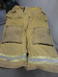 Size 44 X 36 Morning Pride Fire Fighter Turnout Pants Vgc