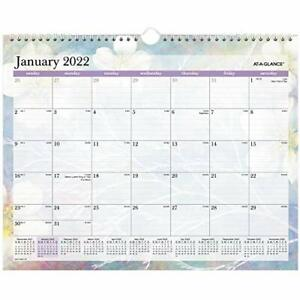 2022 Wall Calendar By At a glance 15 X 12 Medium Monthly Dreams Pm83 707