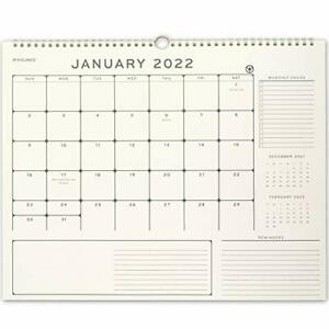 2022 Wall Calendar By At a glance 15 X 15 Medium Monthly Elevation Eco Pm75