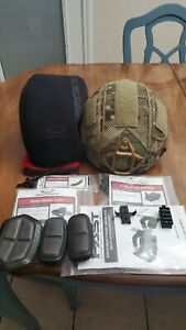 Ops Core FAST Maritime MT Helmet Urban Tan Large with Factory OCC Dial $1600.00