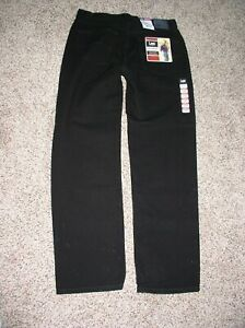 LEE Men#x27;s Black Jeans 33X32 Relaxed Fit Straight Leg NWT $16.00