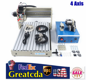 4 Axis Cnc 3040t Router Engraver 3d Engraving Milling Drilling Machine 400w Top