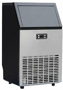 Smad Commercial Ice Maker Machine Undercounter 11 20 Minutes Quick Ice Making