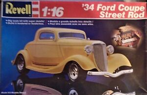 New Listing1988 Revell 34 Ford Coupe Street Rod 116 Model Partial Kit Withbox For Parts