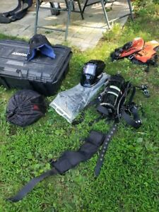 Commercial Diving dry suit medium kirby morgan km black lightly used equipment $1200.00