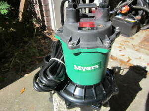 Myers Me40 Submersible Sump Effluent Sewage Pump W Float Switch